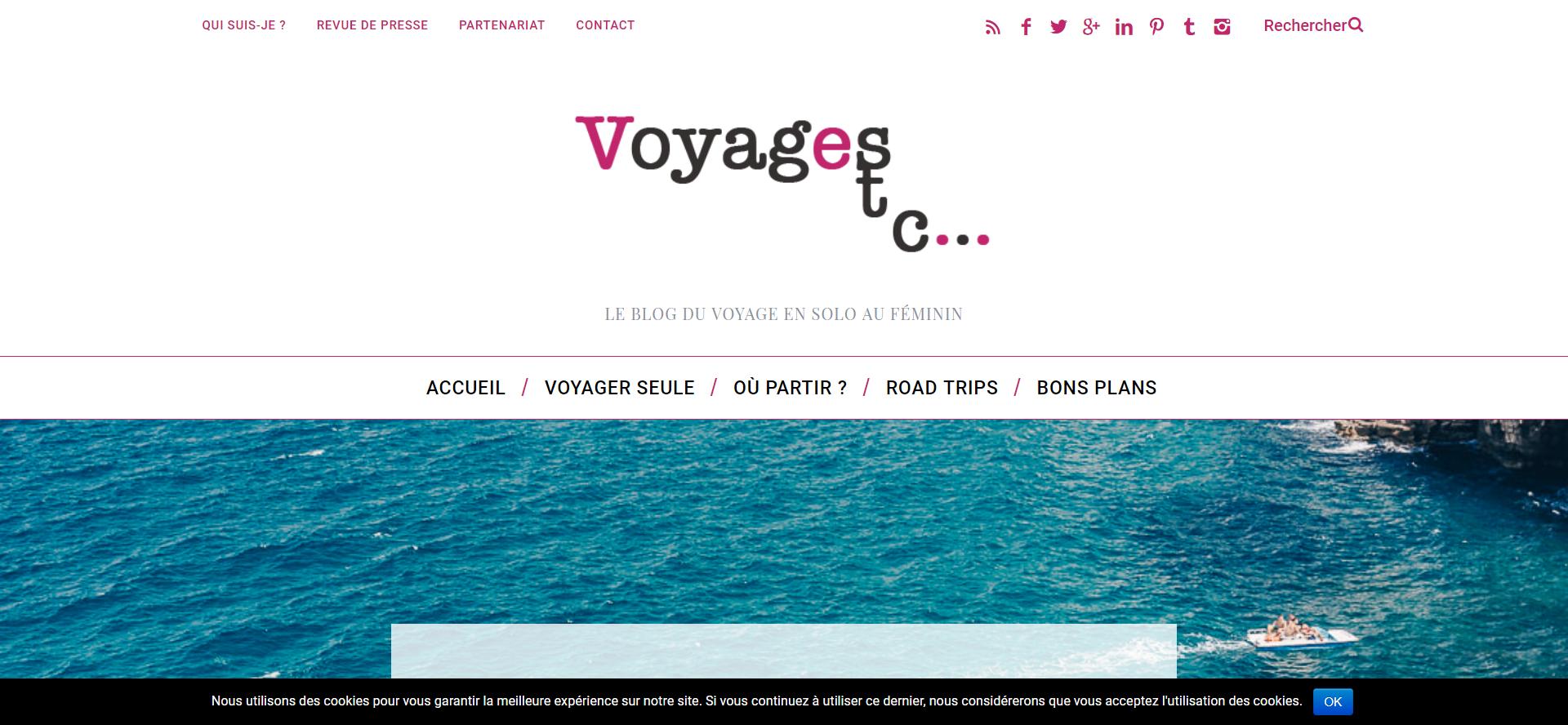 Le blog de Voyagesetc