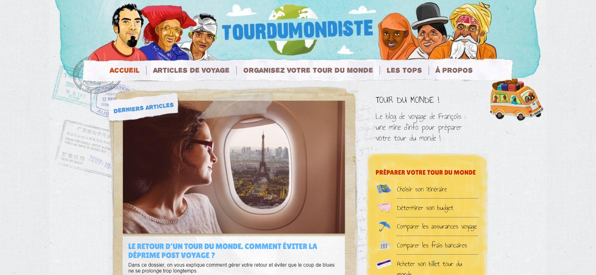 Blog tourdumondiste