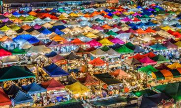 9 Marchés de jours et de nuit à visiter à Bangkok !