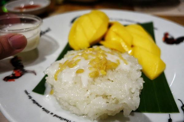 riz gluant a la mangue